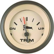 "Sierra Sahara Series 2"" Black & Tan Trim Gauge"