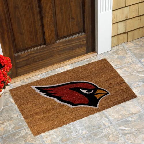 Arizona Cardinals Logo Coir Door Mat - No Size