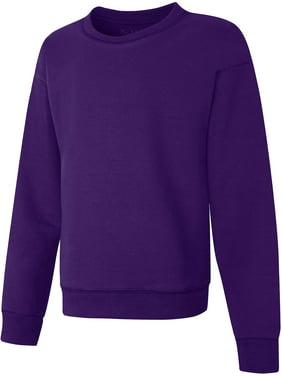 Hanes Girls ComfortSoft Eco Smart Girls Crewneck Sweatshirt, Sizes 4-16