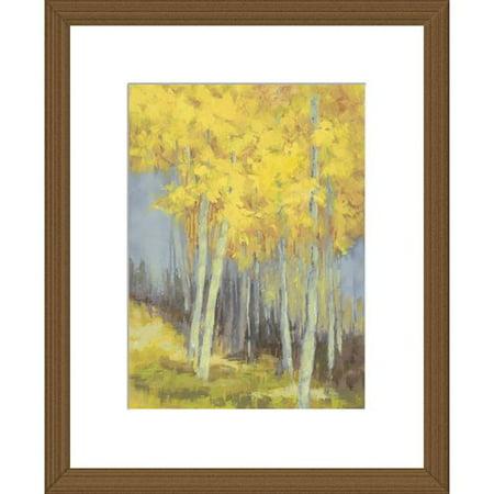 - Winston Porter 'Gold Leaf' Framed Print