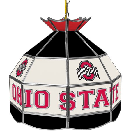 The Ohio State Glass Tiffany Lamp - 16 inch diameter (Colorado State Rams Lamp)