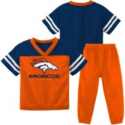 NFL Denver Broncos Toddler Short Sleeve Top and Pant Set