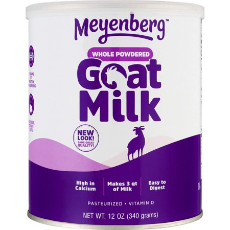 Whole Milk Ricotta (Meyenberg Whole Powdered Goat Milk (12 Ounce), Gluten Free, Non GMO, Vitamin D 12 Ounce (Pack of 1))