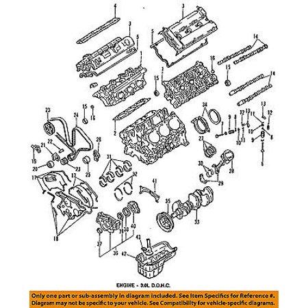 dodge chrysler oem 91-96 stealth-engine intake valve md172315 - walmart com