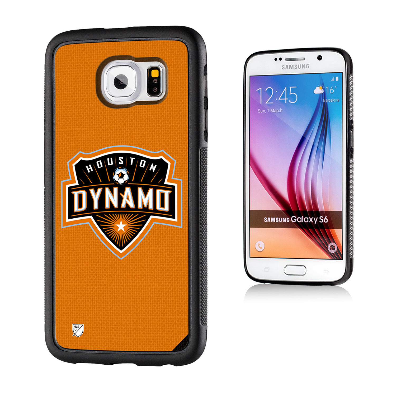 Houston Dynamo Solid Galaxy S6 Bumper Case