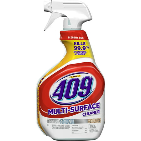 (2 pack) Formula 409 Multi-Surface Cleaner, Spray Bottle, 32 oz
