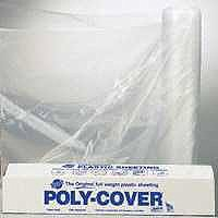 ORGILL POLY 6X12-C Poly Film, 100 ft L, 12 ft W, 6 mil Thick, Clear ()