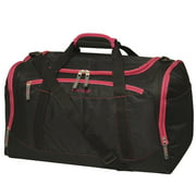 22 Duffel, Black with Pink