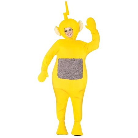 Morris costumes gc4214 teletubbies lala-lala adult costume One Size