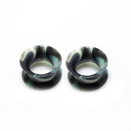 32t Thin (Camouflage Thin Silicone Flexible Ear Plugs Camouflage Sold as)