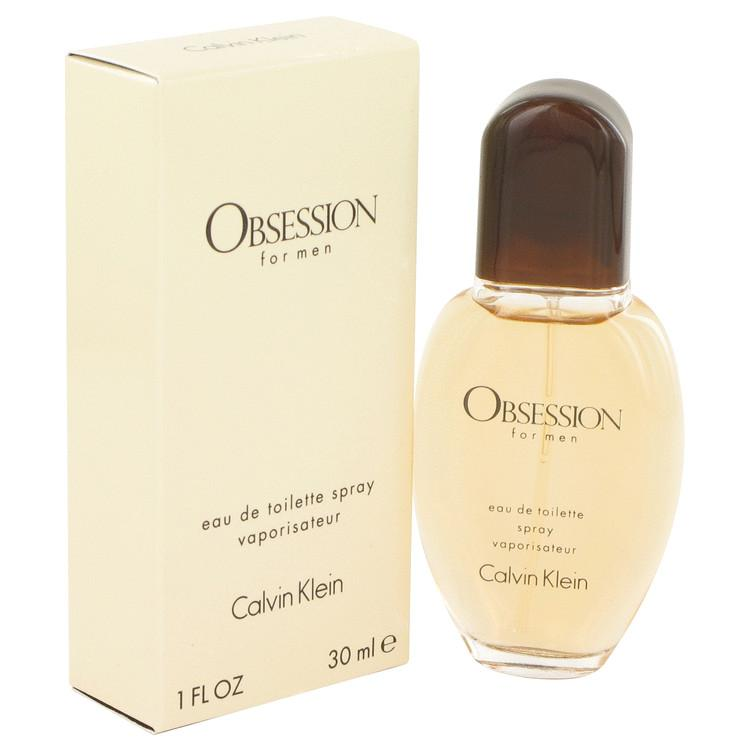 OBSESSION by Calvin Klein Eau De Toilette Spray 1 oz for Men
