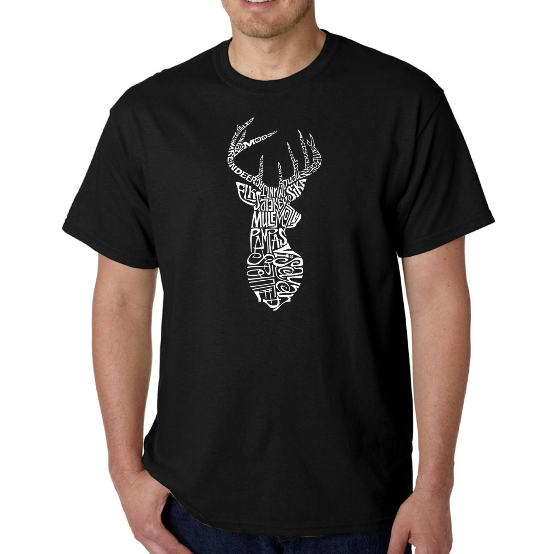 Los Angeles Pop Art Men's T-shirt - Types of Deer