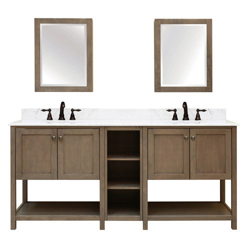 Sunnywood Aiden Bath 2-Shelf Modular Component Vanity Base