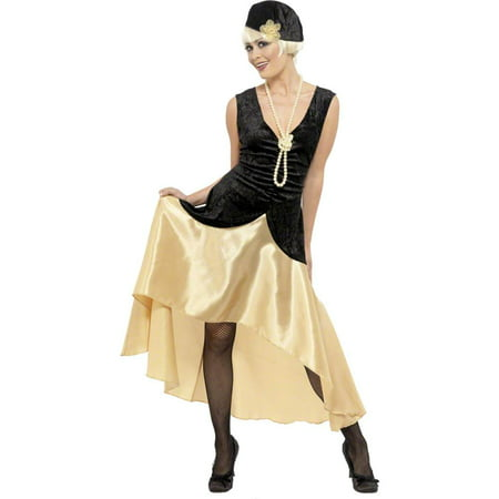 20s Gatsby Girl Adult Costume (20s Headpiece)