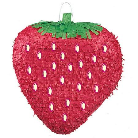 Strawberry Pinata - Strawberry Party Supplies