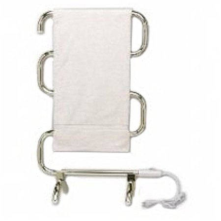 (Warmrails Classic 38 in. Towel Warmer in Satin Nickel)