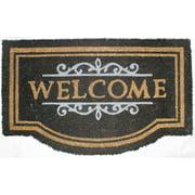DII Nottingham Welcome Vinyl Back Coir Natural Doormat
