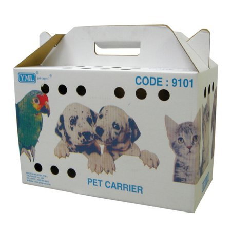 YML 9101 Travel Box for Small Animals, Lot of 5