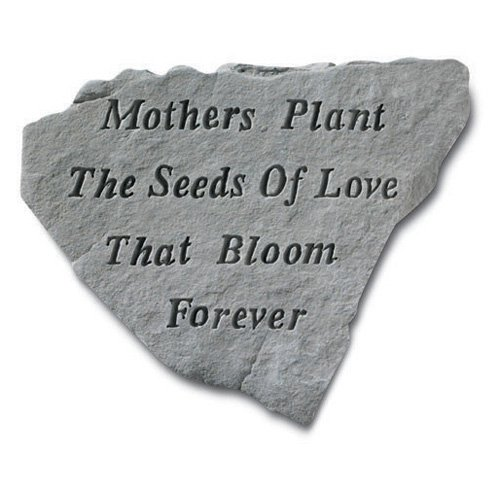 Mothers Plant The Seeds Garden Accent Stone by Overstock