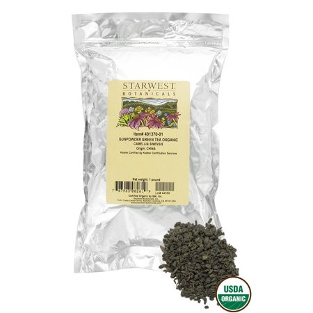 Starwest Botanicals - Bulk Gunpowder Green Tea Organic - 1