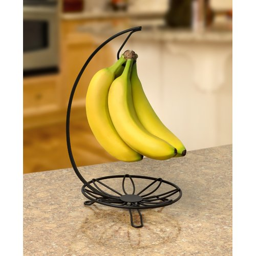 Ebern Designs Laux Leaf Banana Holder Fruit Bowl