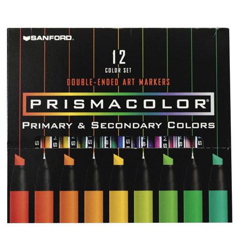 Prismacolor Marker Set - 12 pieces