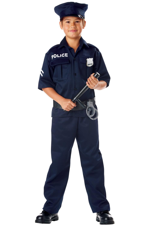 Child Police Uniform Costume California Costumes 343 by California Costumes