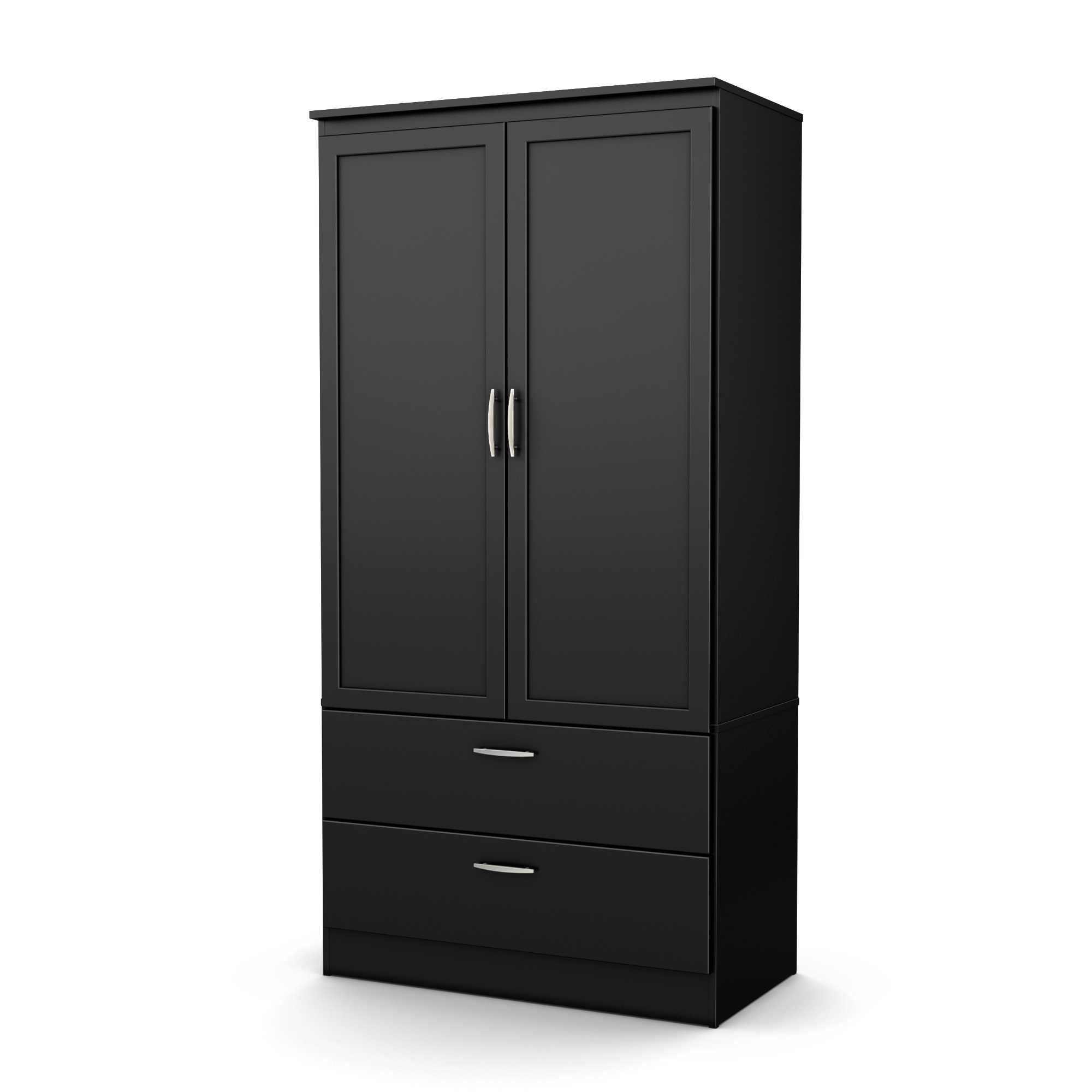 Merveilleux South Shore Acapella Wardrobe Armoire, Multiple Finishes