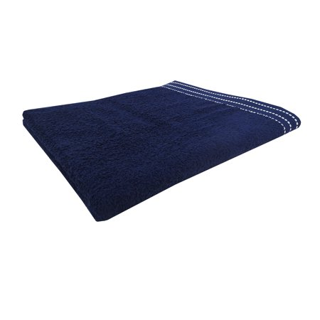 Mainstays Rolled Beach Towel Navy - Walmart.com