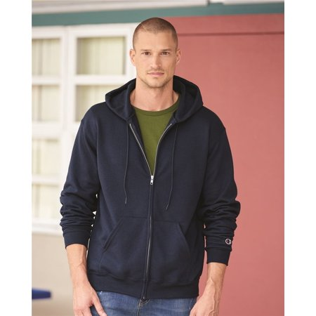 Fleece Double Dry Eco Full-Zip Hooded Sweatshirt