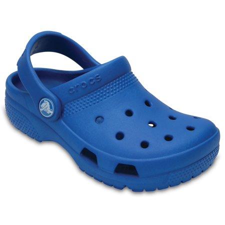 Girls Navy Sandals (Crocs Unisex Child Coast Clogs (Ages)
