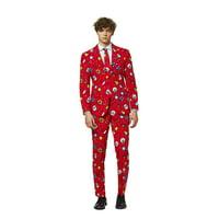 OppoSuits Men's Dapper Decorator Christmas Suit