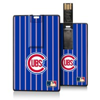Chicago Cubs 1948-1956 Cooperstown Pinstripe Credit Card USB Drive