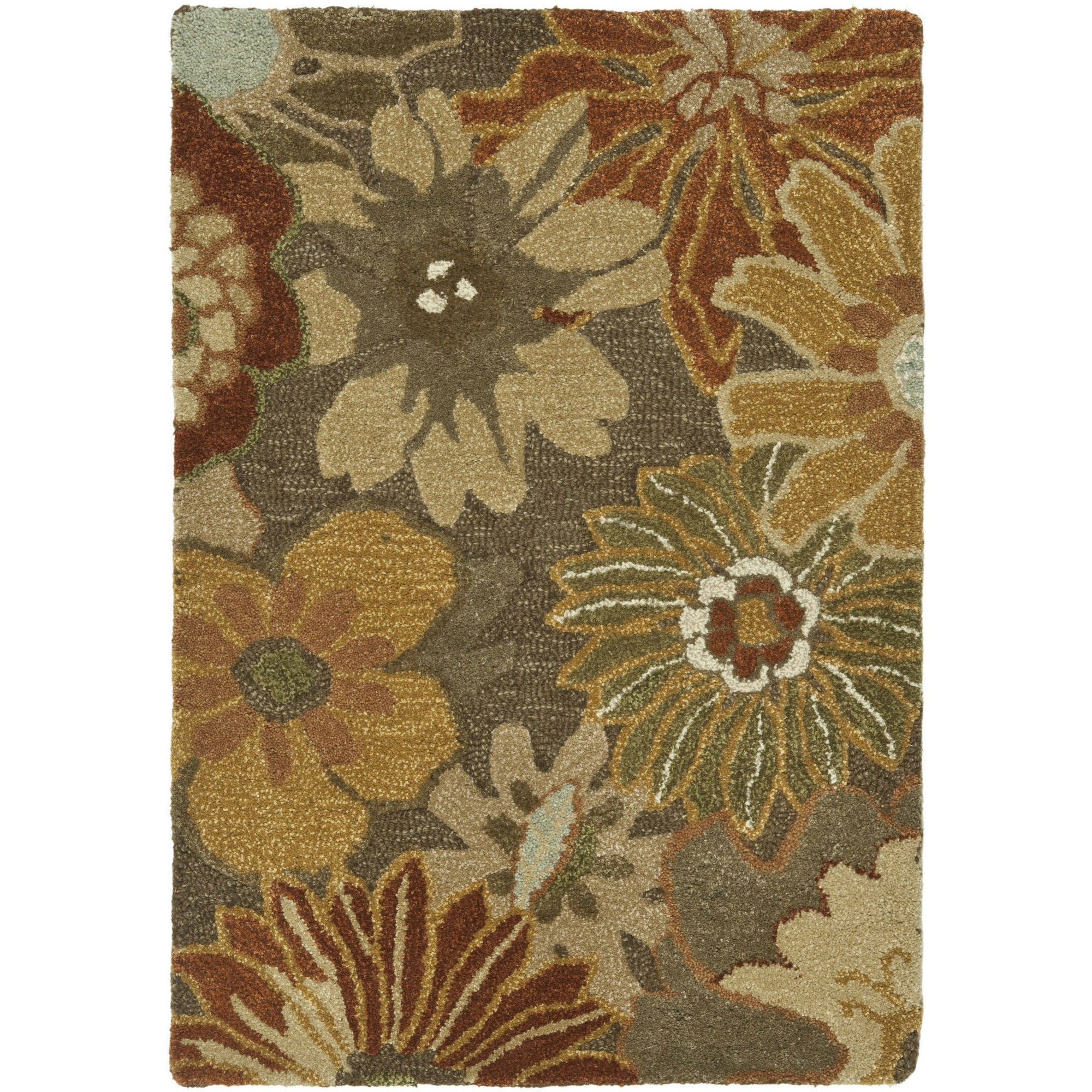 Safavieh Soho Bliss Wool Area Rug, Brown/Multicolor