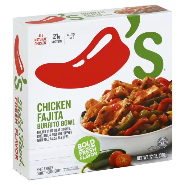 Chili's® Chicken Fajita Burrito Bowl 12 oz. Box