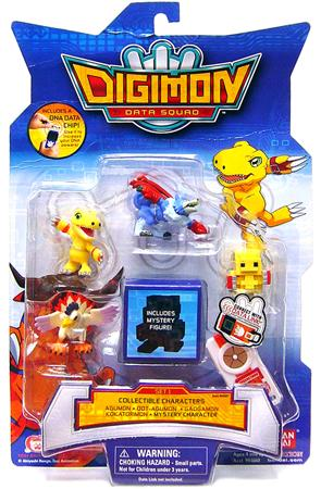 Digimon Data Squad Set 1 PVC Figures by
