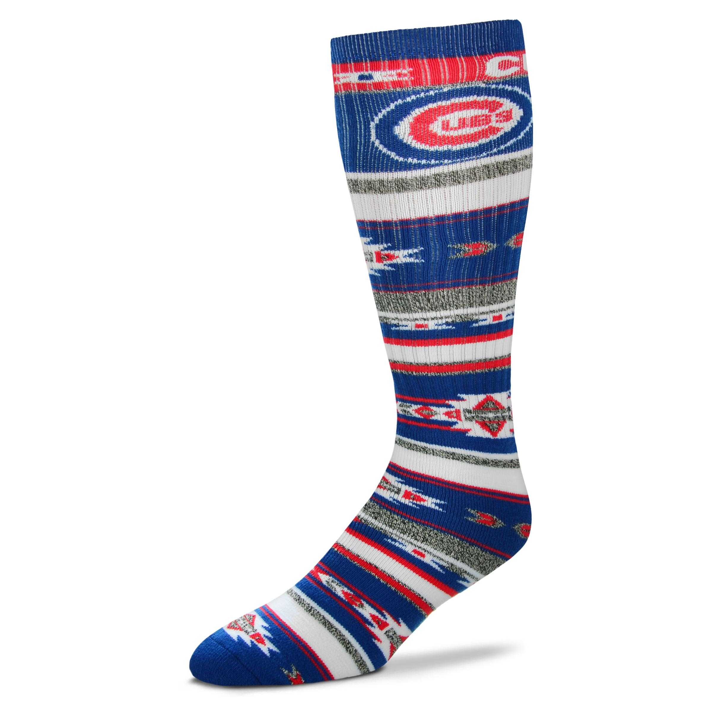 Chicago Cubs Tailgater Socks, OSFM