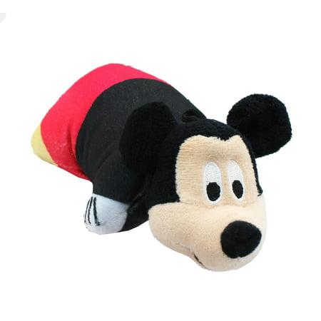 Disney Mickey Mouse 5 Inch Mini Pillow Pet Plush ()