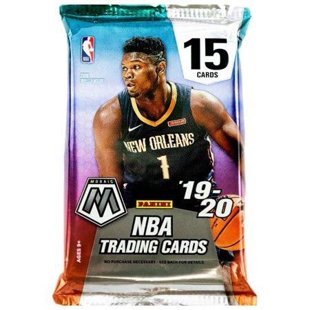 NBA Panini 2019-20 Prizm Mosaic Basketball Trading Card Hobby Pack
