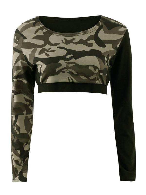 Funcee 1pcs US Single Women Elastic High Waist Long Sleeve Sport Tracksuit Crop Tops/Pants for Running Yoga