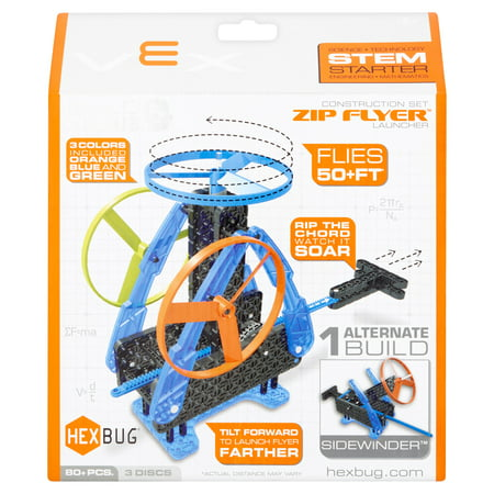 Hexbug VEX Robotics Construction Set Zip Flyer Launcher - Vex Robotics Kits