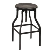 "Eastvale 30"" Metal Bar Stool, Antique Black Finish by Office Star Products"