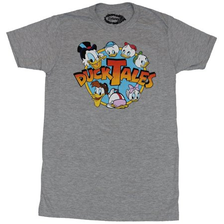 Duck Tales Mens T-Shirt - Ducktales Classic Logo Head Circled Image