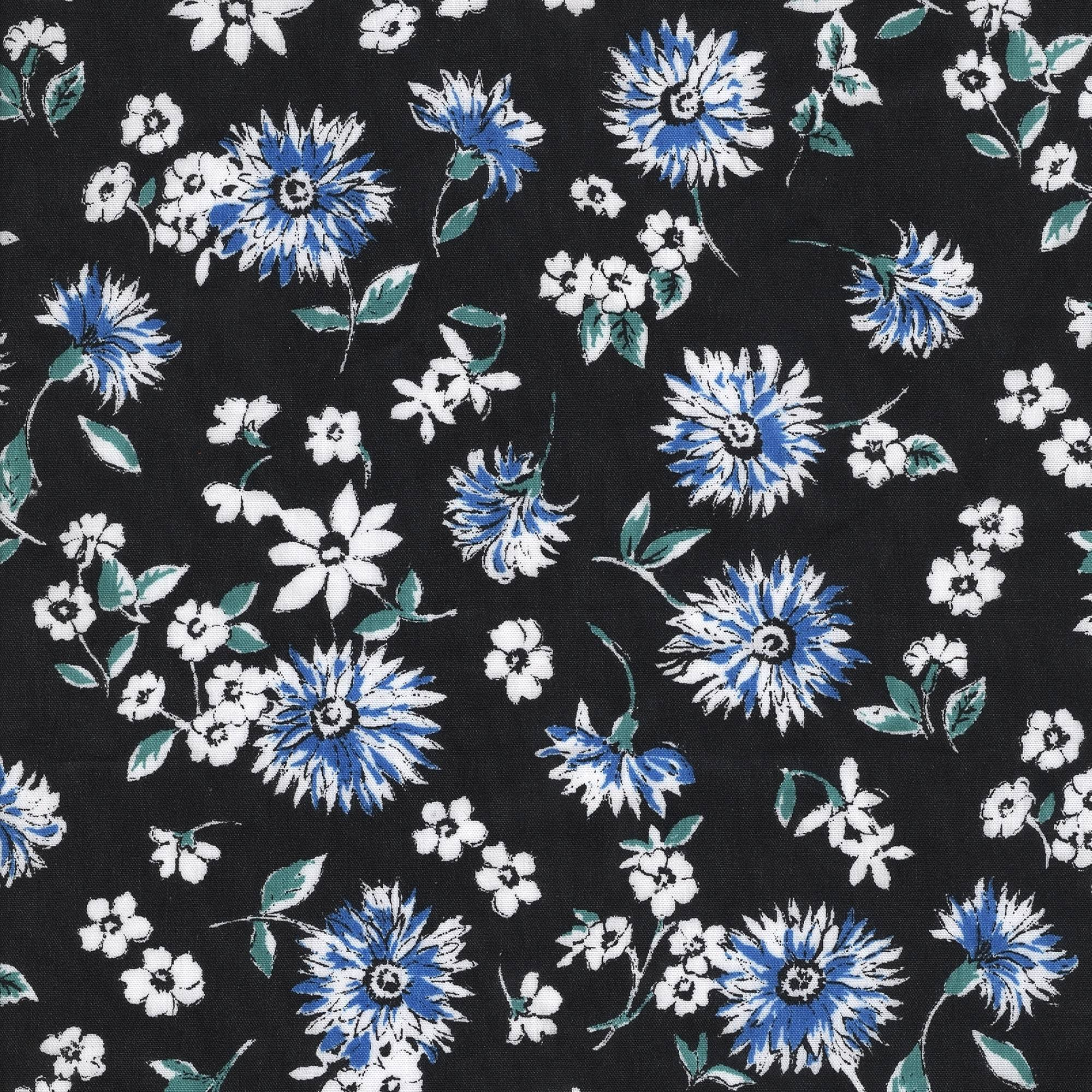 Shason Textile Assorted Craft Projects Poly Cotton Floral Print Fabric, 3 yds
