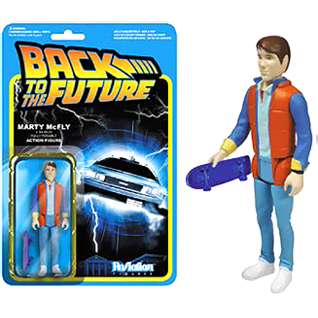 Funko Back to the Future ReAction Marty McFly Action - Marty Mcfly Cosplay