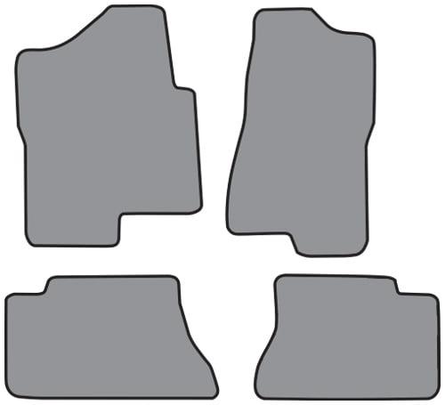 ACC NEW BLACK VINYL FLOOR GMC PICKUP CREW CAB OLD STYLE REPLACES CARPET MAT