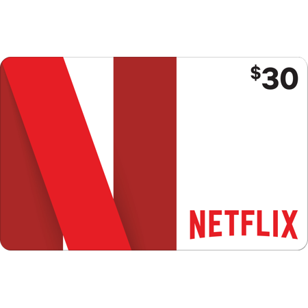 Netflix $30 Gift Card (Email Delivery)