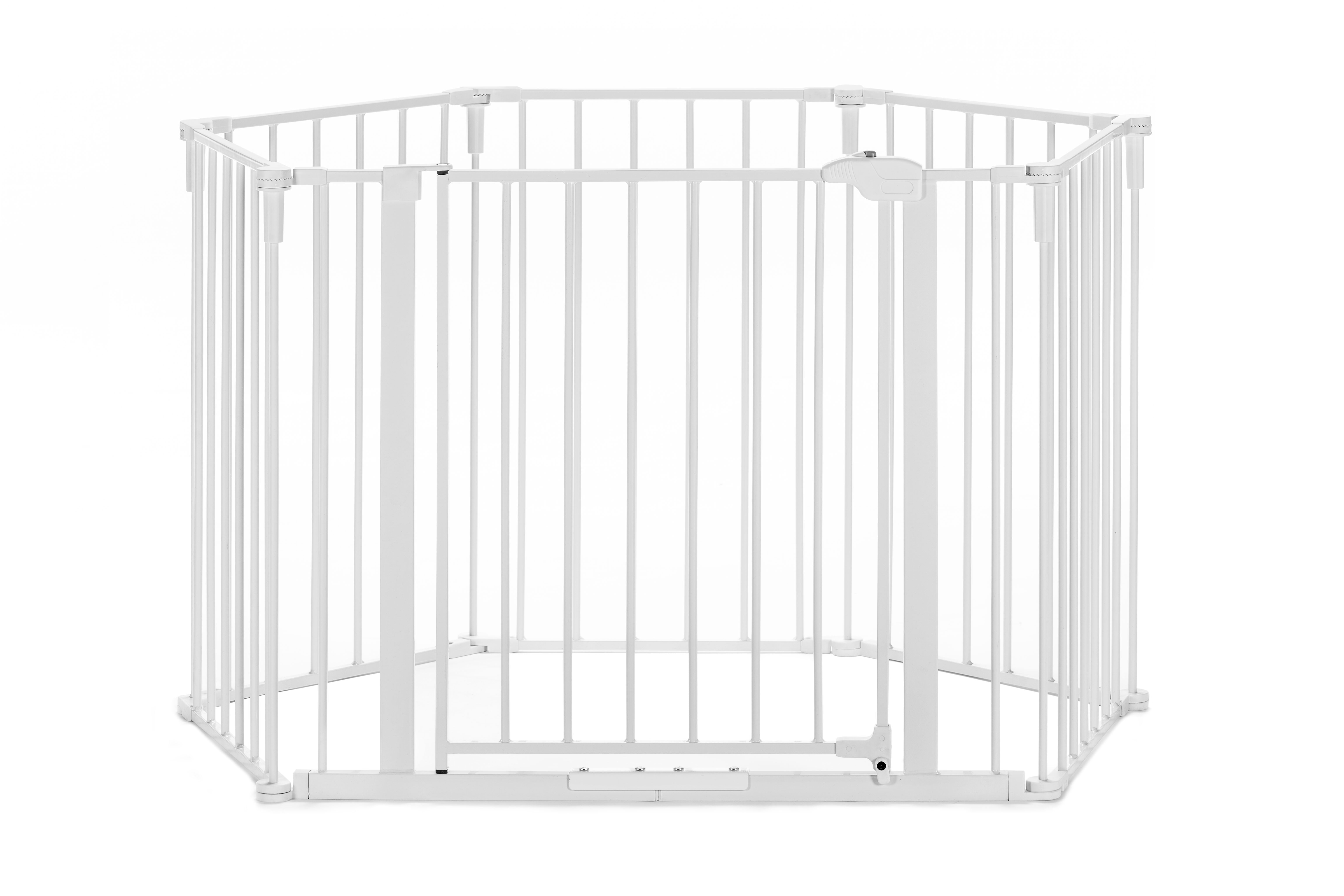 Regalo 6 Panel Super Wide Baby Gate And Play Yard 2 In 1 Walmart Com Walmart Com