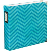 "Project Life Printed Chipboard D-Ring Album, 12"" x 12"", Maggie Holmes, Chevron"