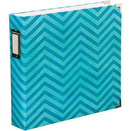 Project life printed chipboard d ring album 12 x 12 for American crafts 3 ring scrapbook album binder